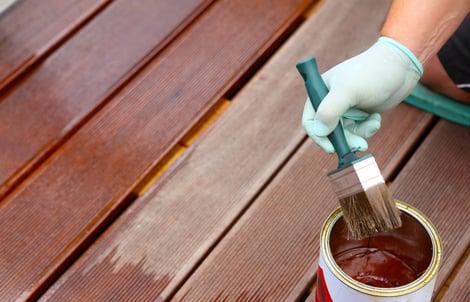 Terassin lautojen öljyäminen tulee tehdä vuosittain