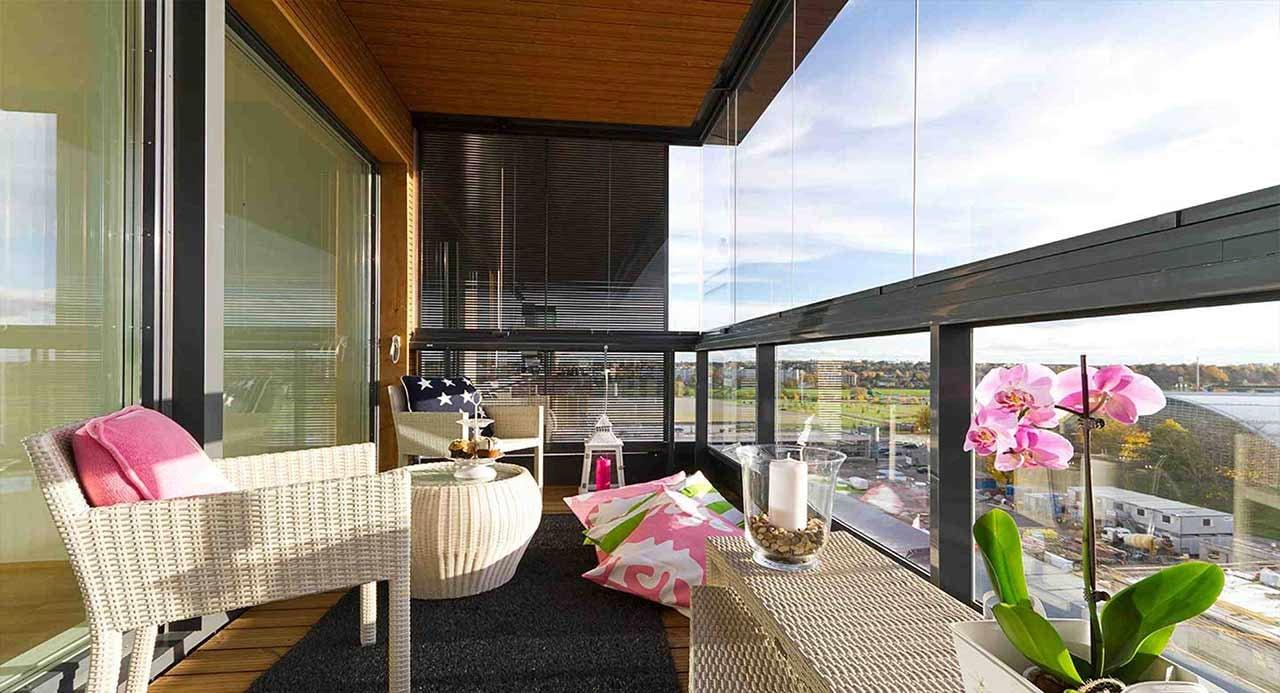 Städa balkongen - Lumon balkonginglasningar-3