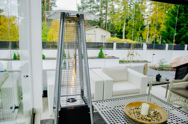Estufas de gas para terrazas
